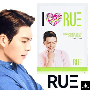 RUE Kim Woo Bin mask Pack 1BOX/10ea Green- Advanced Deep Care Mask