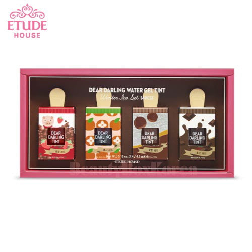 ETUDE HOUSE Dear Darling Water Gel Tint - Limited Edition Winter Ice Set (4pcs)
