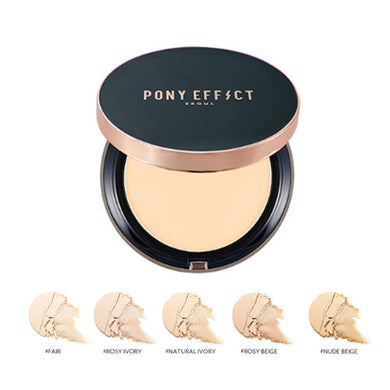 PONY EFFECT Cover Fit Powder Foundation (Shade in Natural Ivory)
