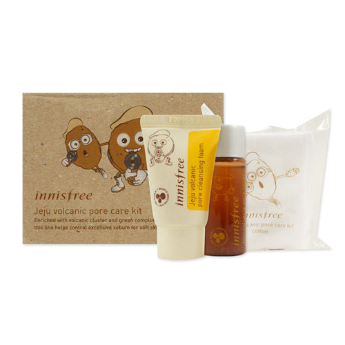 INNISFREE Jeju Volcanic Pore Care Kit 3 Items