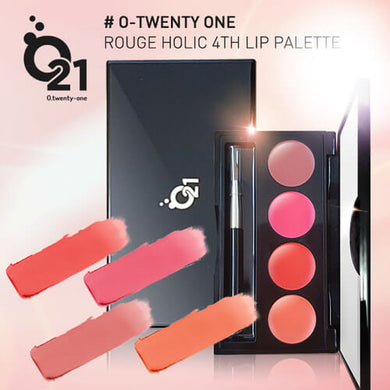 O. TWENTY-ONE Roughe Holic 4th Lip Palette