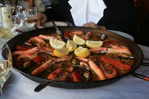 Treat yourself with world-famous Paella in Spain