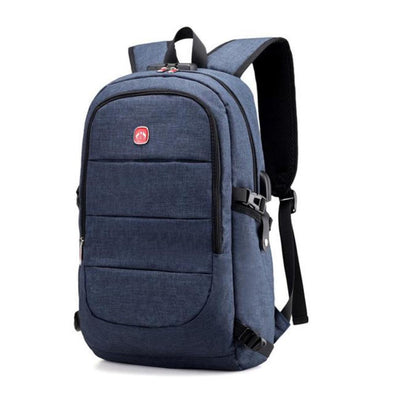 External USB Charge Backpack, Anti-Theft Lock Backpack-Readyprosupply-Readyprosupply
