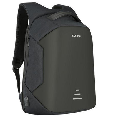 Anti-Theft Backpack with USB Charging, Waterproof Travel Backpack