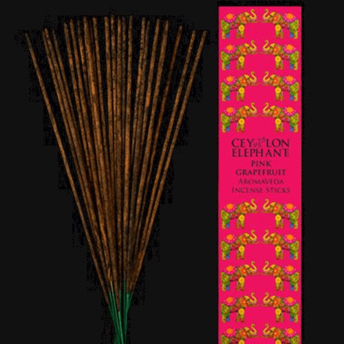 CEYLON PINK GRAPEFRUIT - Aromaveda natural Incense Sticks