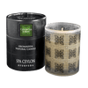 CEYLON TEA & MINT- Aromaveda Natural Candle with Paper Tube. A 100% natural blend of vegetable waxes & pure aromatic essential oils.