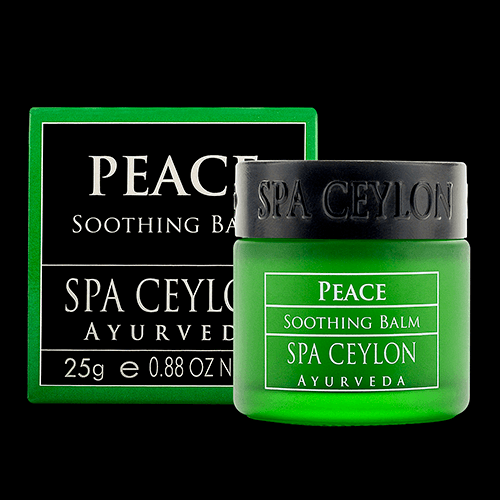 TRAVEL BALM QUAD set-PEACE - Soothing Balm: Instant natural cooling & calming relief from stress, headache, cold, chest congestion & minor pains. Gently hydrates & clarifies the senses.