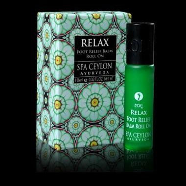 RELAX - Foot Relief Balm Roll On 20ml to sooth and revive.