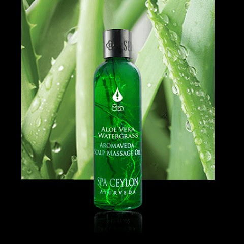 ALOE VERA WATER GRASS - Scalp Massage Oil