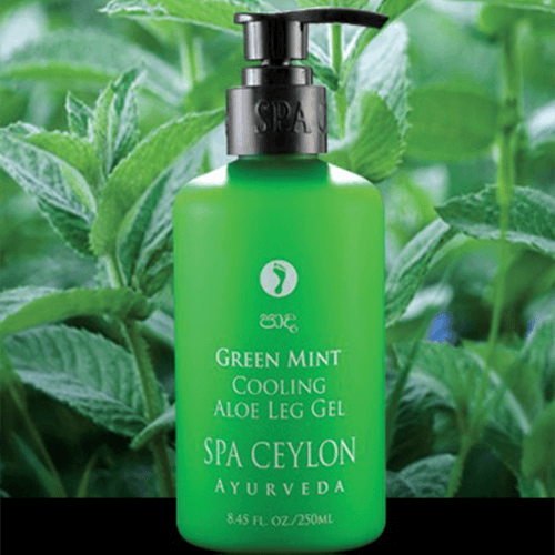 GREEN MINT COOLING ALOE Leg Gel 250ml