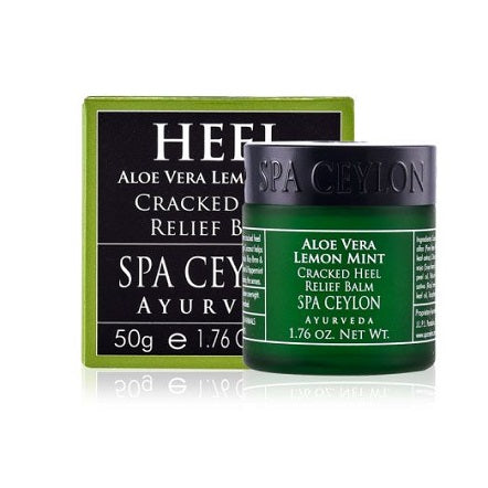 ALOE VERA LEMON MINT - Cracked Heel Relief Balm Spa Ceylon 50g