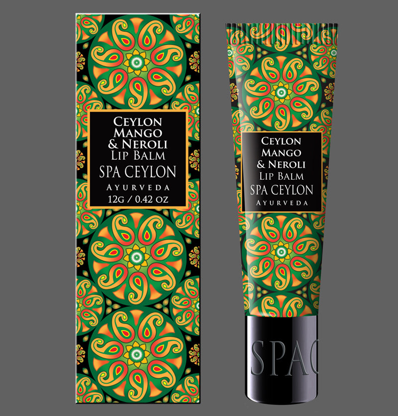 CEYLON MANGO & NEROLI - Lip Balm, A deep-conditioning & restorative blend of exotic essential oils & fruit butters that melt on your lips for soft natural shine.