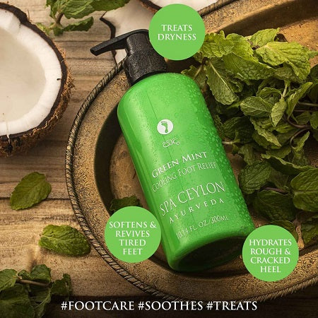 Ayurveda Green Mint Cooling Foot Relief