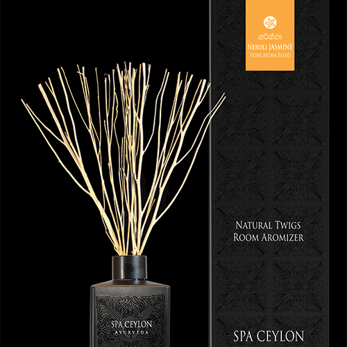 PINK GRAPEFRUIT - Natural Twigs Room Aromizer. A decorative natural Room Aromizer combining dried natural twigs with pure essential oils & natural fragrance compounds.