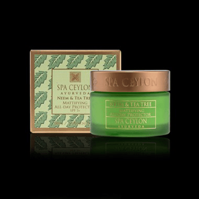 NEEM & TEA TREE -  Mattifying All - day Protector SPF 5+ 100g