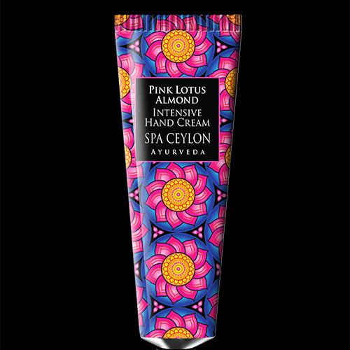 PINK LOTUS ALMOND  - Intensive Hand Cream. Romantic Ylang Ylang & soothing Neroli Blossom combine with exotic Pink Lotus to uplift & delight the senses.