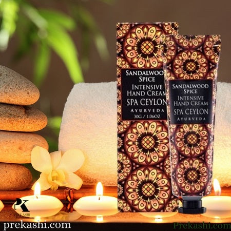 SANDALWOOD SPICE - Intensive Hand Cream