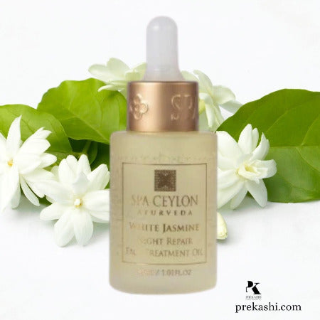 WHITE JASMINE - Night Repair Face Treatment Oil