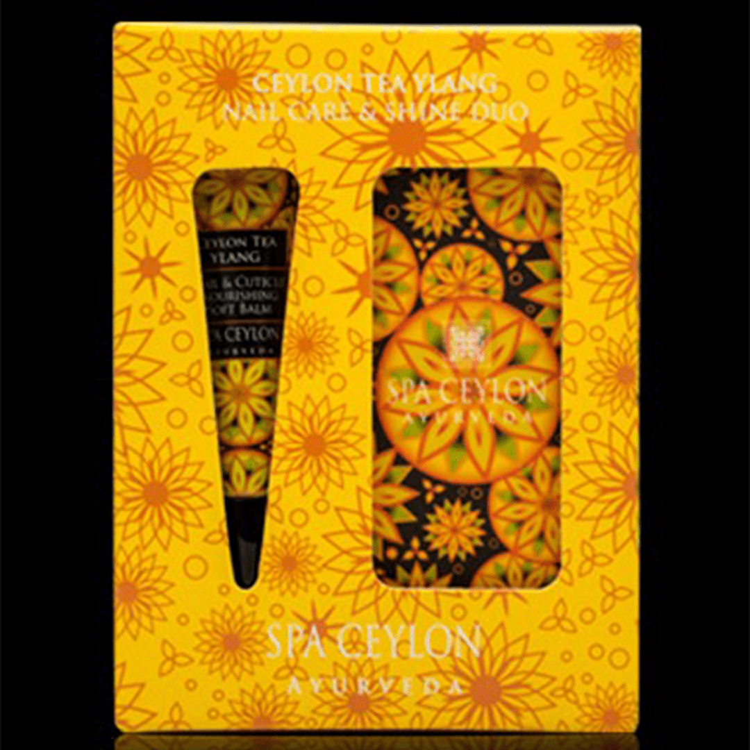 CEYLON TEA YLANG - Nail Care & Shine Duo