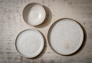 4 Medium Cna'an Plate Set