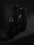 Black Swann set with 2 Mugs