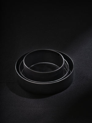 3 Piece dark baking set