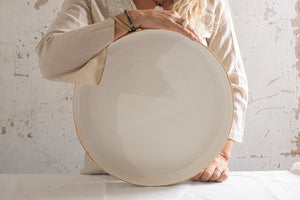 Pure White Serving Platter