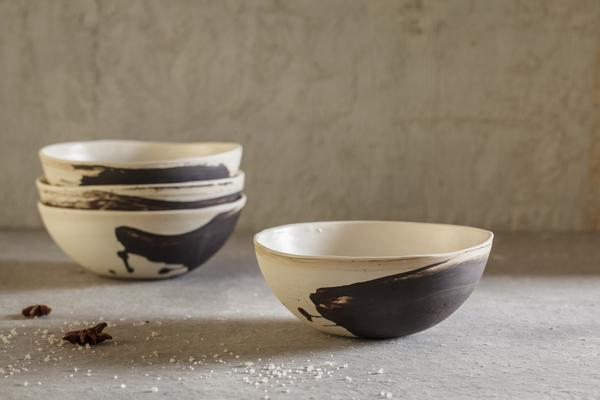 4 Sakura Bowl Set