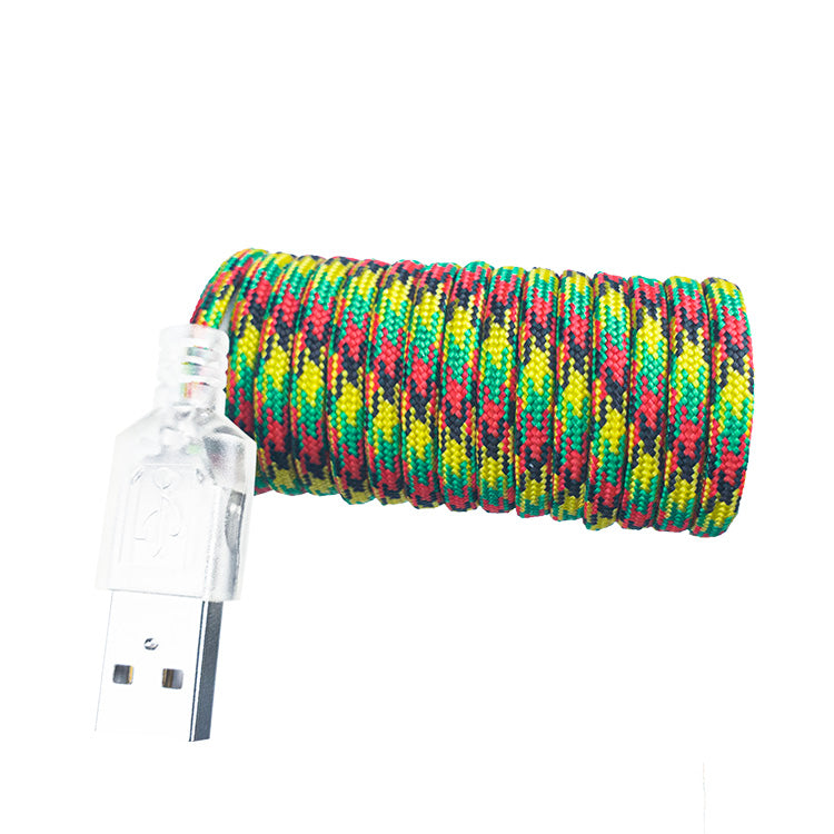 ESSD Paracord - Rasta - eSport - paracord muse kabel - paracord cable