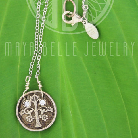 Tree of Life / Family Tree Necklace - Maya Belle Jewelry