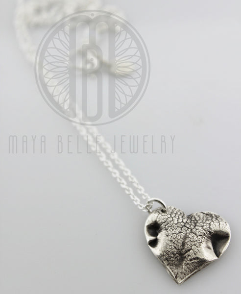 Large Dog Nose (or Paw) Print Necklace - Maya Belle Jewelry