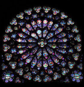 Notre Dame Rose Window South Rose Window - Maya Belle Jewelry
