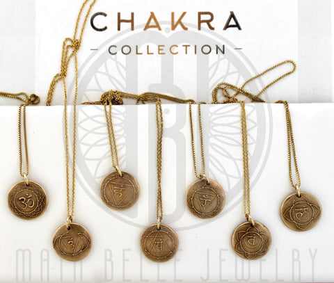 Chakra Collection without stones - Maya Belle Jewelry