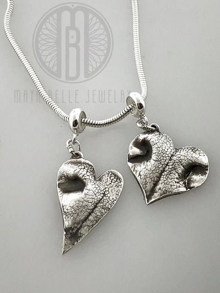 Dog Nose Print Pandora Style Necklace - Maya Belle Jewelry