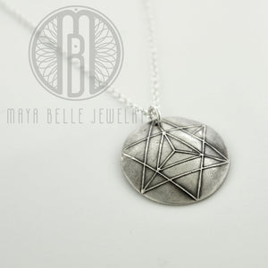 Star Tetrahedron Sacred Geometry - Maya Belle Jewelry