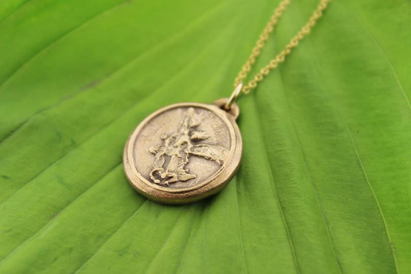 Saint Michael the Archangel • - Maya Belle Jewelry