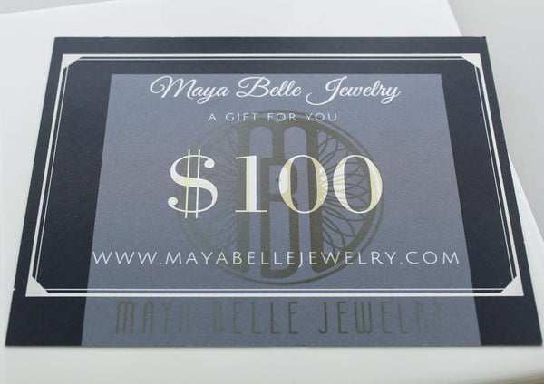 Gift Card - Maya Belle Jewelry