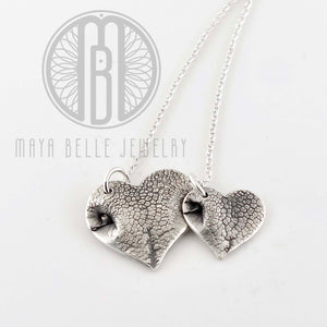 Classic Pet Nose or Paw Print Necklace - Maya Belle Jewelry