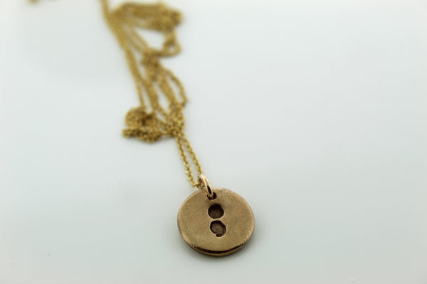 Semicolon necklace - Maya Belle Jewelry