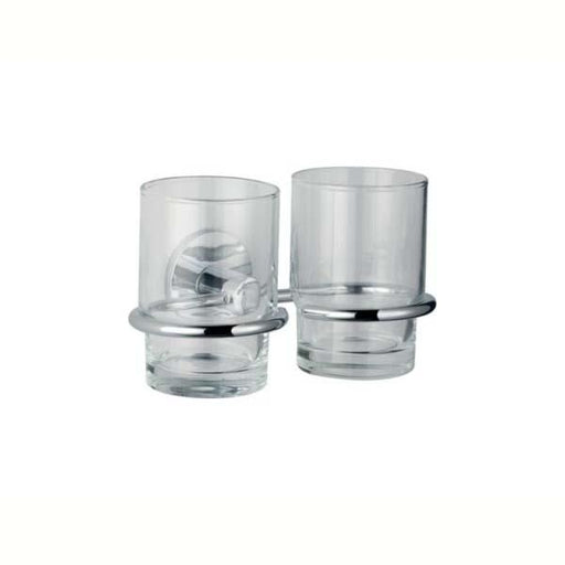 Kohler Cross Range Double Tumbler and Holder - Unbeatable Bathrooms