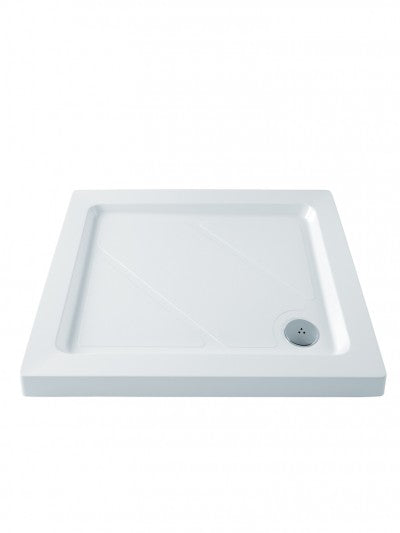 MX Classic Shower Tray 900x800mm Including Waste - Unbeatable Bathrooms