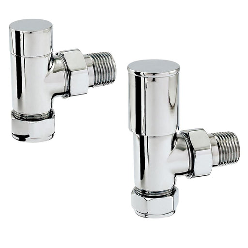 Zehnder 15mm Double Angled Valves - Unbeatable Bathrooms
