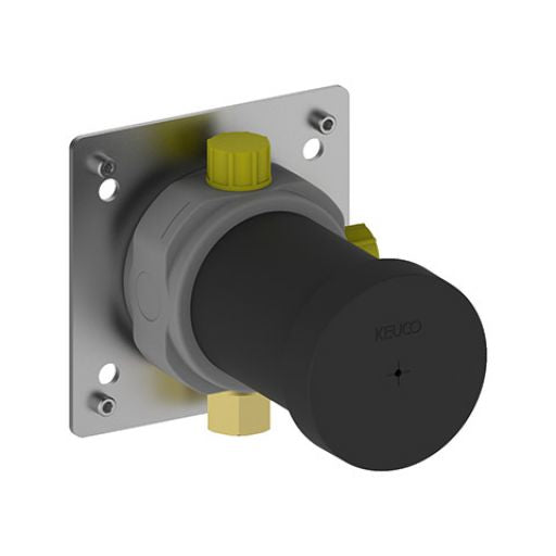 Keuco Rough Part Installation Unit For 2 Way Diverter Valve With Wall Outlet For Shower Hose - Unbeatable Bathrooms