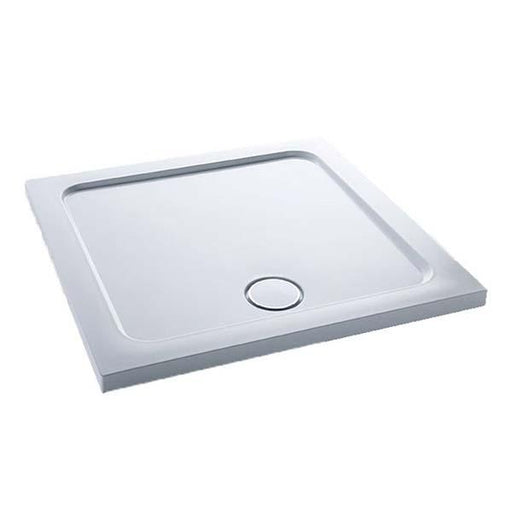 Kohler Flight Low Standard 100cm x 100cm Square Shower Tray - Unbeatable Bathrooms