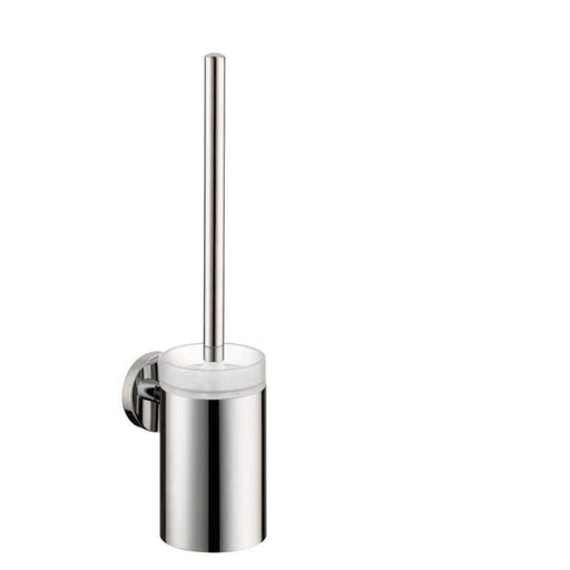 Hansgrohe Logis - Toilet Brush with Holder - Unbeatable Bathrooms