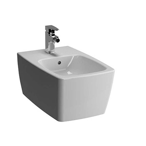 Vitra M-Line 36cm x 56cm One Taphole Wall Hung Bidet - Unbeatable Bathrooms