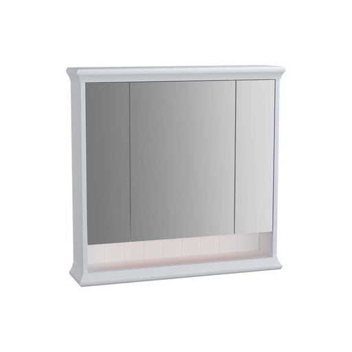Vitra Valarte Mirror Cabinet with Hard-Wired LED Lighting - Unbeatable Bathrooms