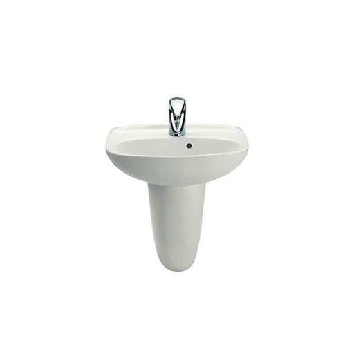 Roca Laura 45cm x 34cm Wall-Hung Cloakroom Basin - Unbeatable Bathrooms