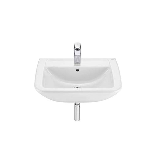 Roca Aire Square Wall-Hung Basin 60cm x 48cm - 1 Taphole - Unbeatable Bathrooms