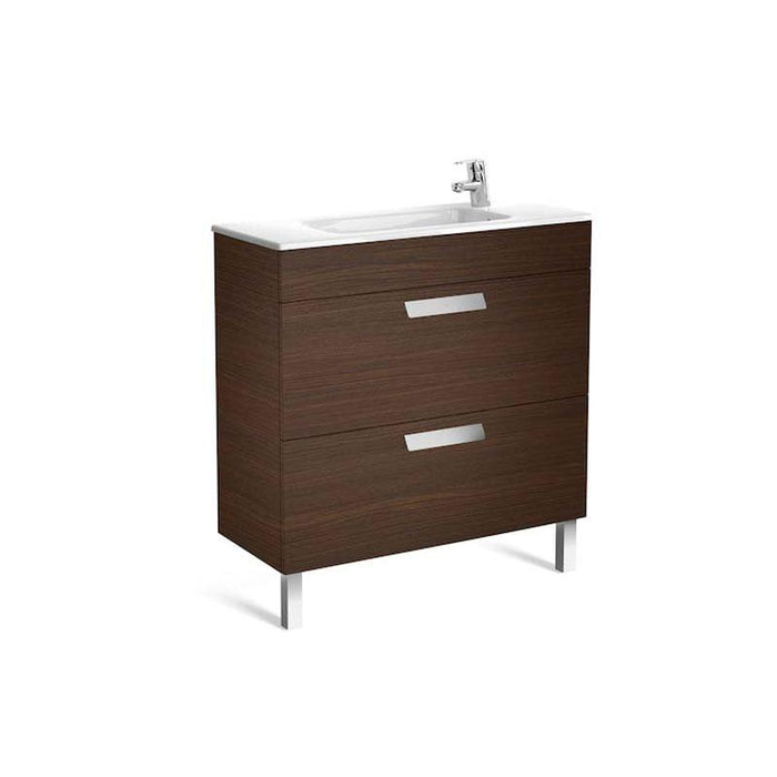Roca Debba Unik Compact Base Unit with Two Drawers and Basin - Unbeatable Bathrooms